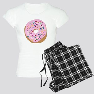 Pink Donut with Sprinkles Women's Light Pajamas