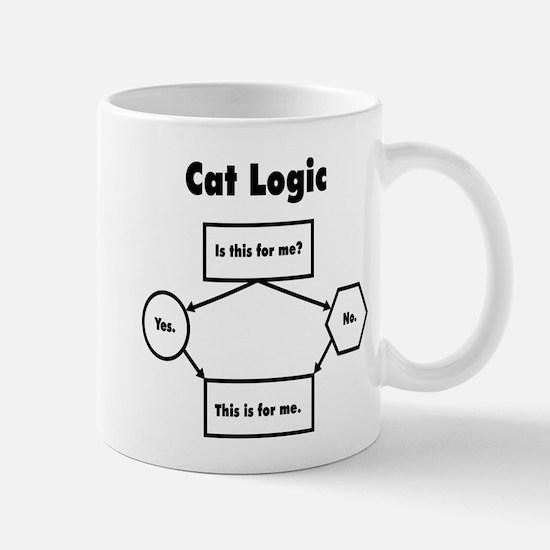 Cat Logic Mugs