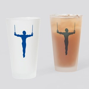 Rings Gymnast Drinking Glass