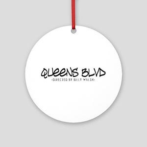 Queens Blvd Billy Walsh Ornament (Round)