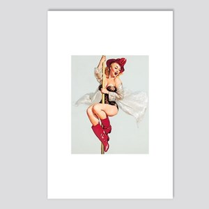 Vintage Pin-Up Postcards (Package of 8)