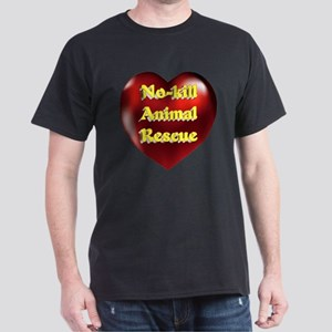 No-kill Animal Rescue Dark T-Shirt
