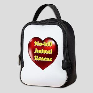 No-kill Animal Rescue Neoprene Lunch Bag
