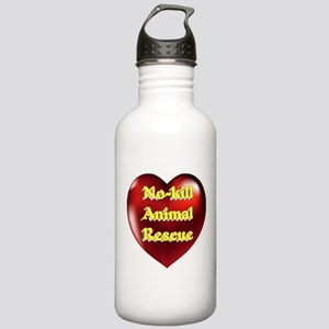 No-kill Animal Rescue Stainless Water Bottle 1.0L