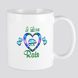 I Love Rats Mug