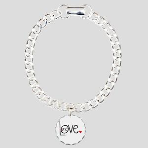 Love Bracelet Charm Bracelet, One Charm
