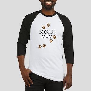 Boxer Mom Baseball Jersey