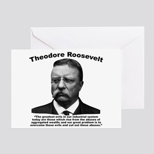 TRoosevelt: Wealth Greeting Card