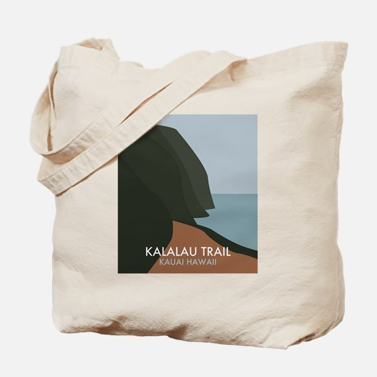 Cute Na pali coast Tote Bag