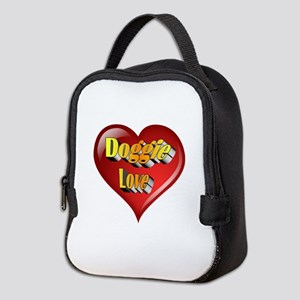 Doggie Love Neoprene Lunch Bag