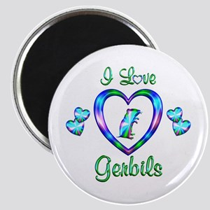 I Love Gerbils Magnet