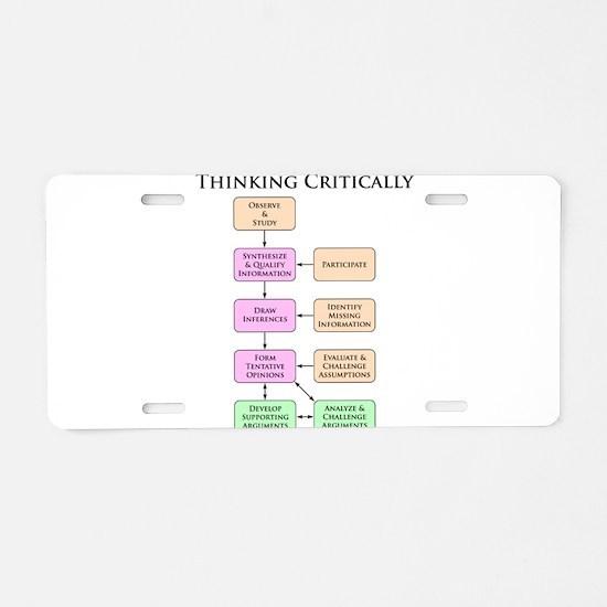 Flowchart Aluminum License Plate