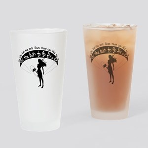 Pick me up Drinking Glass