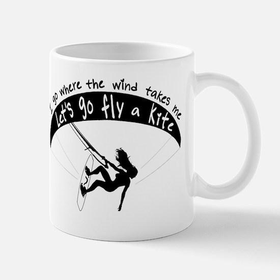 Go with the wind Mug