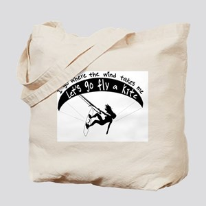 Go with the wind Tote Bag