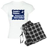 Tonight tomorrows work cloths T-Shirt / Pajams Pants