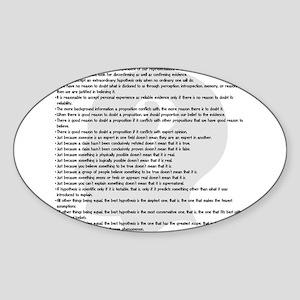 Principles Sticker (Oval)
