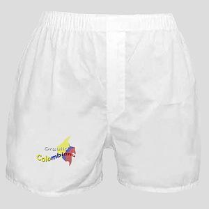 Orgullo Colombiano Boxer Shorts
