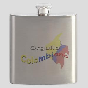 Orgullo Colombiano Flask