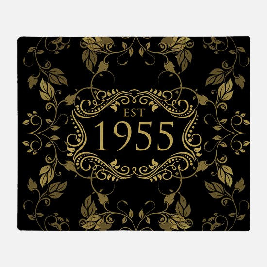 Est. 1955 Throw Blanket