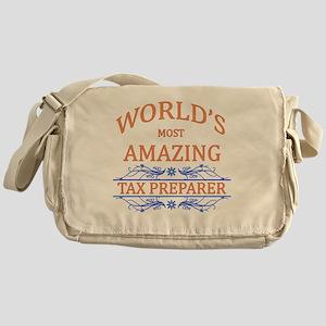 Tax Preparer Messenger Bag