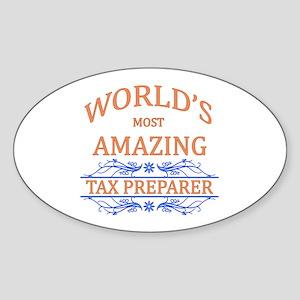 Tax Preparer Sticker