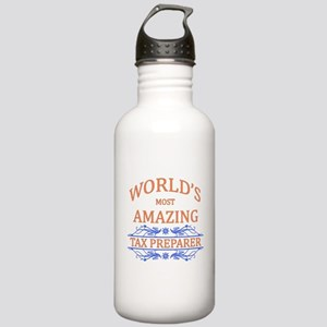 Tax Preparer Stainless Water Bottle 1.0L
