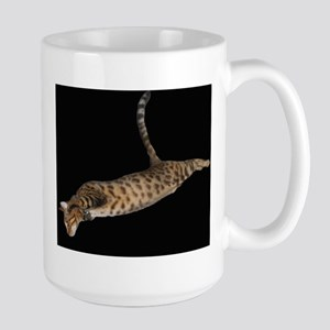 Leaping Leopard Mugs