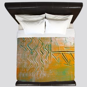 Incredible Textures by One Curious Huma King Duvet
