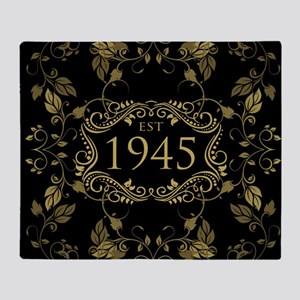 Est. 1945 Throw Blanket