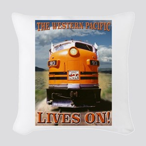 WP Lives Woven Throw Pillow