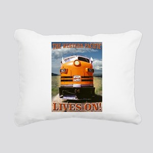 WP Lives Rectangular Canvas Pillow