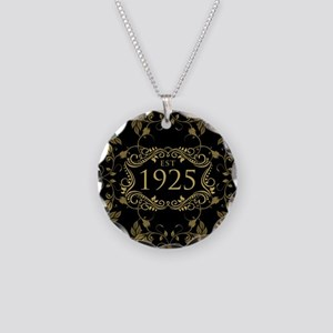 Est. 1925 Necklace Circle Charm