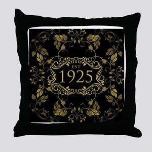 Est. 1925 Throw Pillow