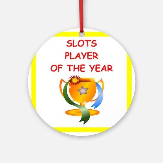 slots Ornament (Round)
