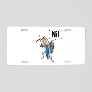 Knight Say Ni Cartoon Aluminum License Plate