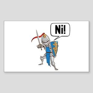 Knight Say Ni Cartoon Sticker