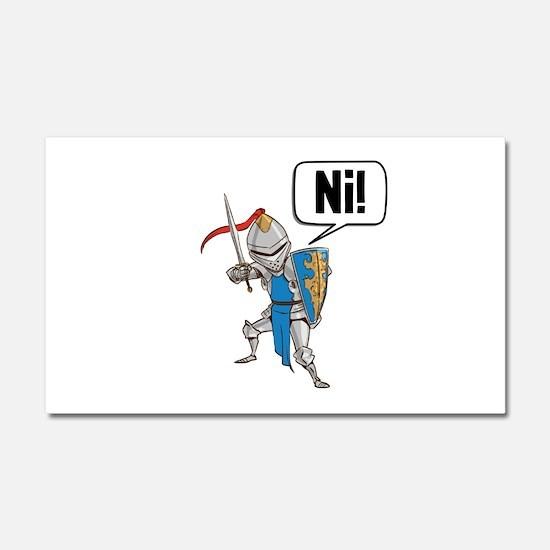 Knight Say Ni Cartoon Car Magnet 20 x 12