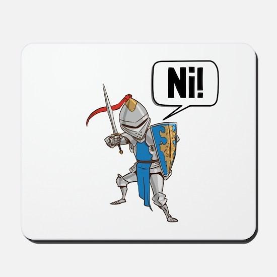 Knight Say Ni Cartoon Mousepad