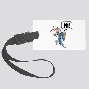 Knight Say Ni Cartoon Luggage Tag