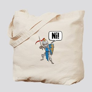 Knight Say Ni Cartoon Tote Bag