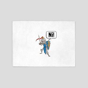 Knight Say Ni Cartoon 5'x7'Area Rug