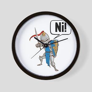Knight Say Ni Cartoon Wall Clock