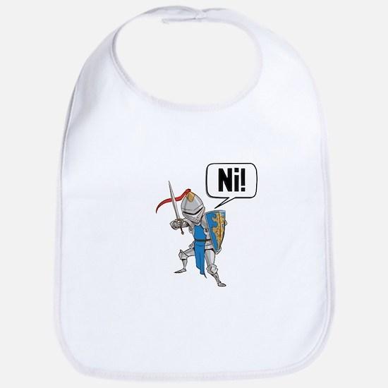 Knight Say Ni Cartoon Bib