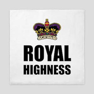 Royal Highness Crown Queen Duvet