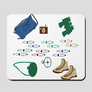 Backpacker Gear Mousepad