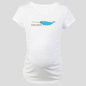 Narwhal Whisperer Maternity T-Shirt