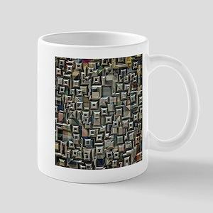 Geometric Metal Abstract Mugs