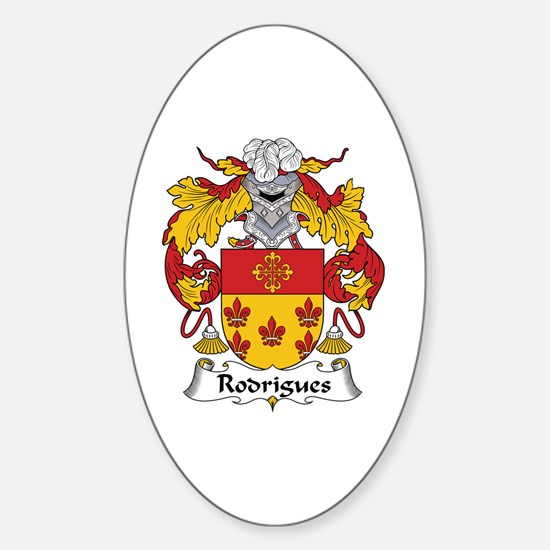 Rodrigues Oval Decal