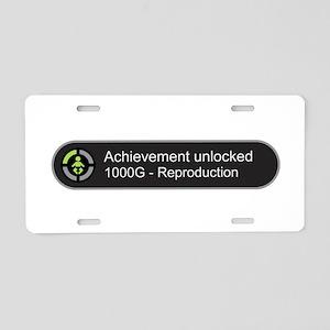 Achievement Unlocked - Repr Aluminum License Plate